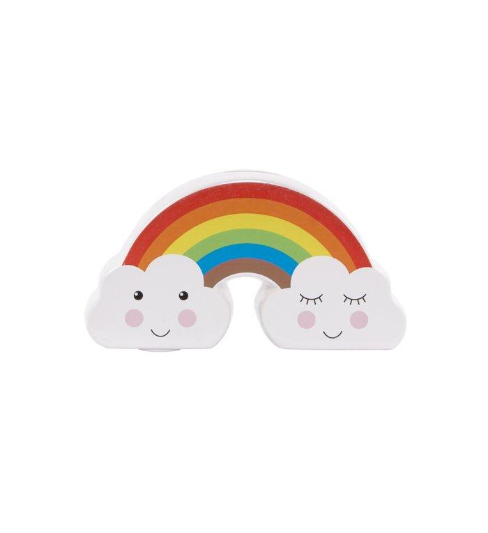 Sass & Belle regenboog spaarpot uit de Clouds collectie