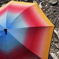 Klaoos Parasol voor het strand Psyché hibiscus