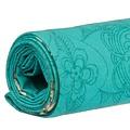 Vent de Bohème  tuinstoel - ligstoel - strandstoel van acaciahout met bohemien motief Hanami Turquoise