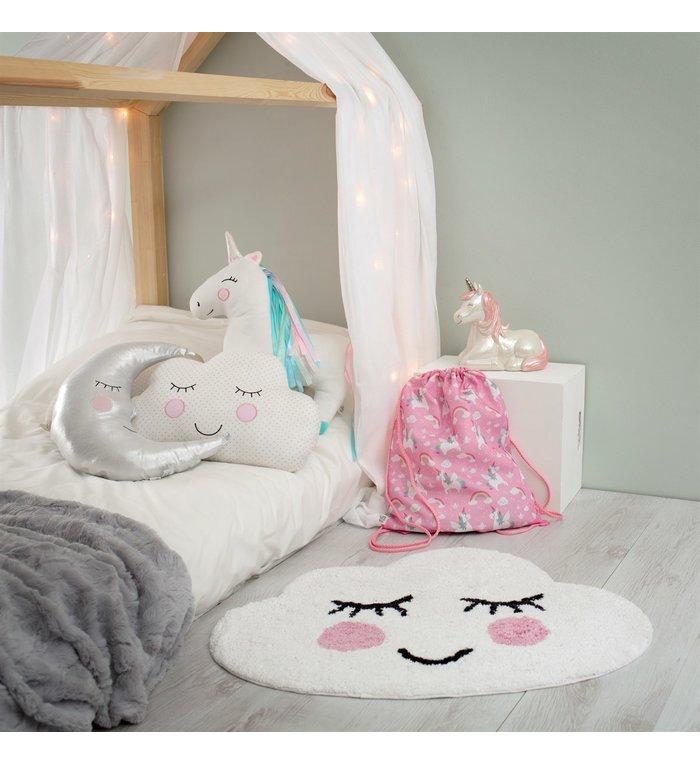Sass & Belle Vloerkleedje Lachend Wolkje uit de Sweet Dreams collectie van Sass & Belle