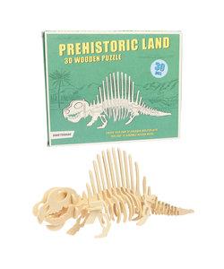 3D puzzel Dimetrodon