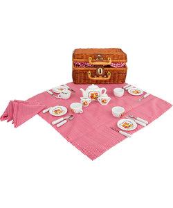 Kinder Picknickmand met Beren Servies - Speel set