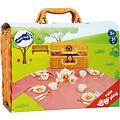 Small Foot picknickmand met beertjes servies voor kinderen