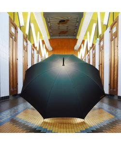Paraplu Groene Nevel