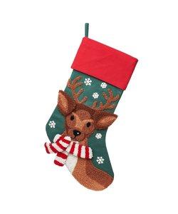 Rendier Christmas Stocking