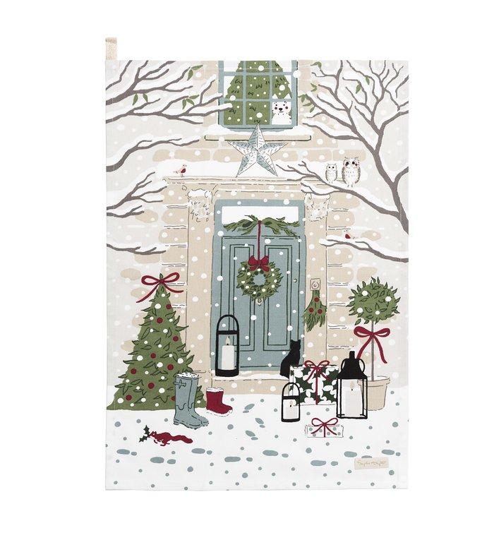 Sophie Allport set van twee kersttheedoeken uit de Hulst & Besjes collectie