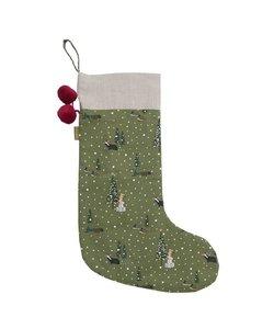 Feestelijk Bos Christmas Stocking