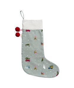 Thuis voor Kerst Christmas Stocking