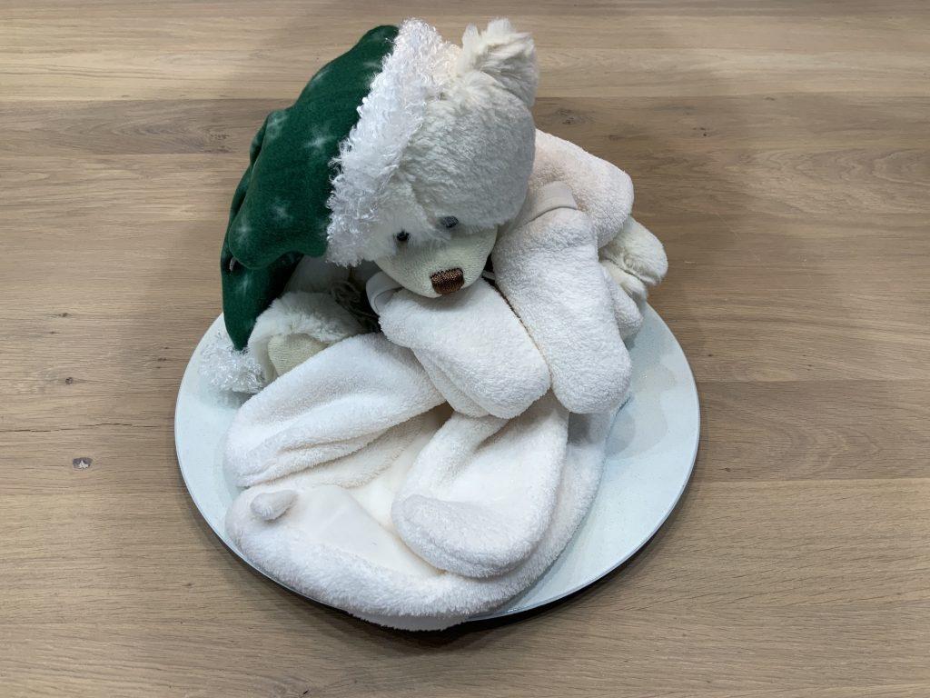 Kraamcadeau, kerstcadeau JINGLE BEAR