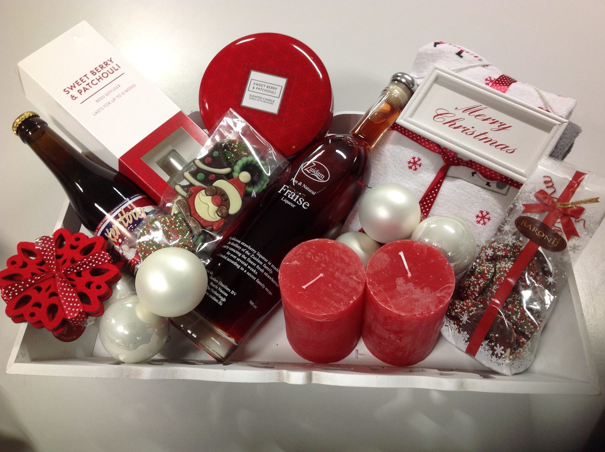 Kerstpakket RED & WHITE
