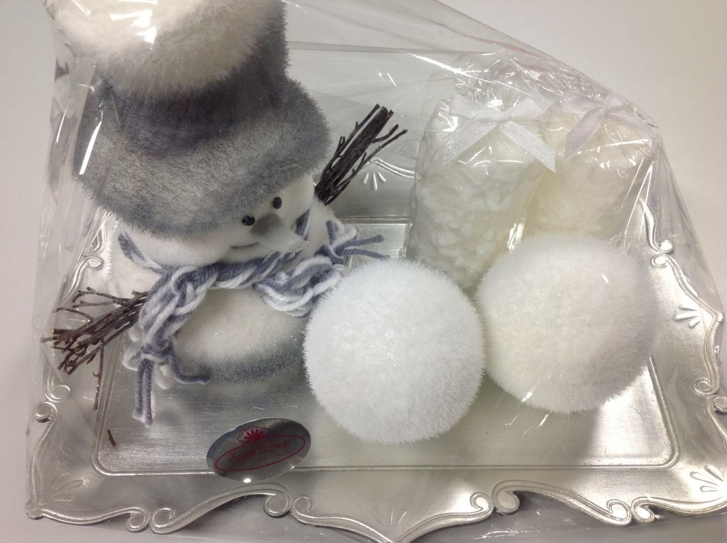 Kerst cadeau SNOWMAN