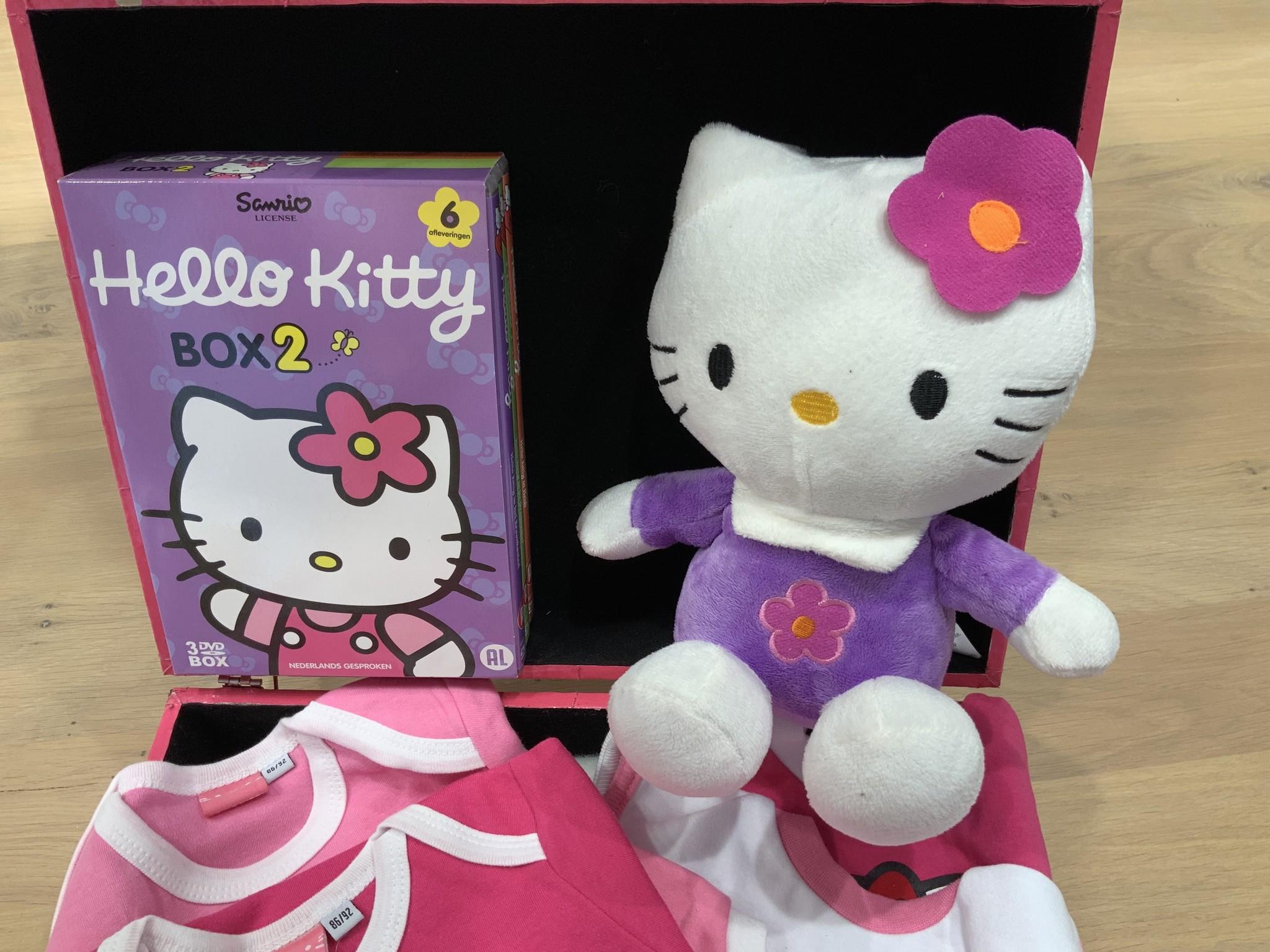 Verjaardagscadeau KITTY SUITCASE