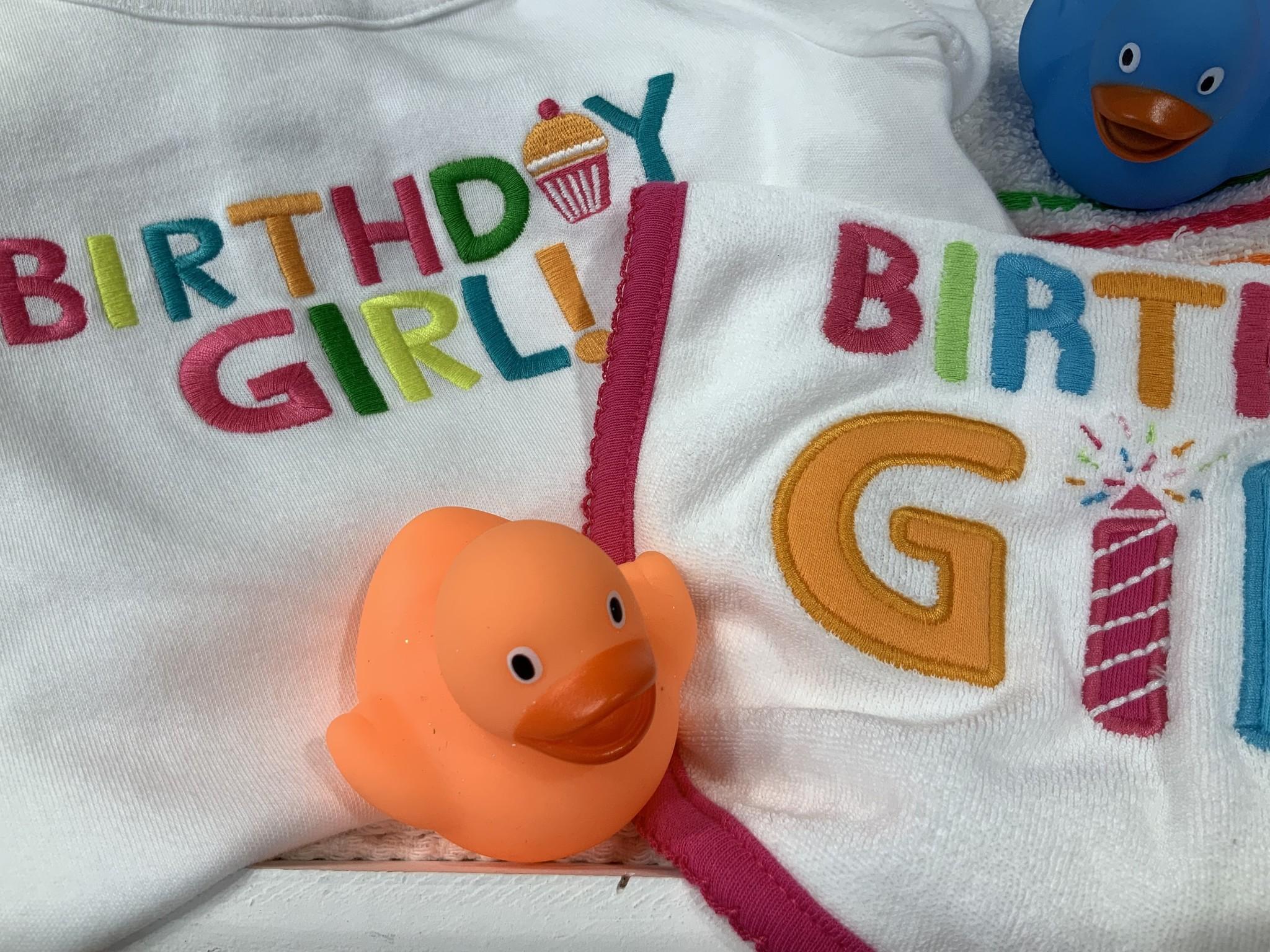 Verjaardagscadeau BIRTHDAY GIRL
