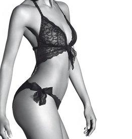 Aubade Boîte à Désir - Trikini - Zwart
