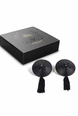 Bijoux Indiscrets Burlesque pasties - Classic tassel - Zwart