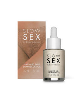 Bijoux Indiscrets Slow Sex - Hair and skin shimmer dry oil