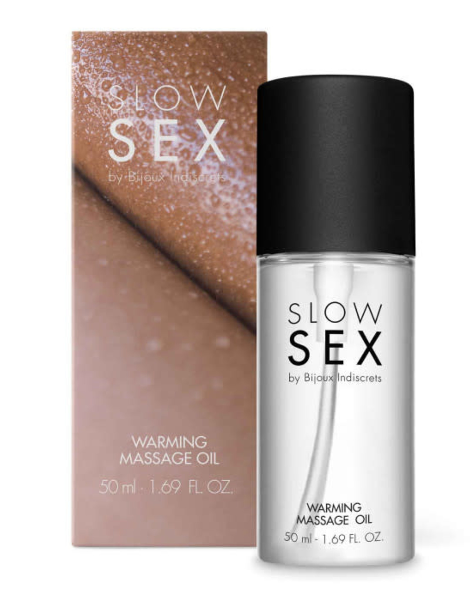 Bijoux Indiscrets Slow Sex - Warming massage oil