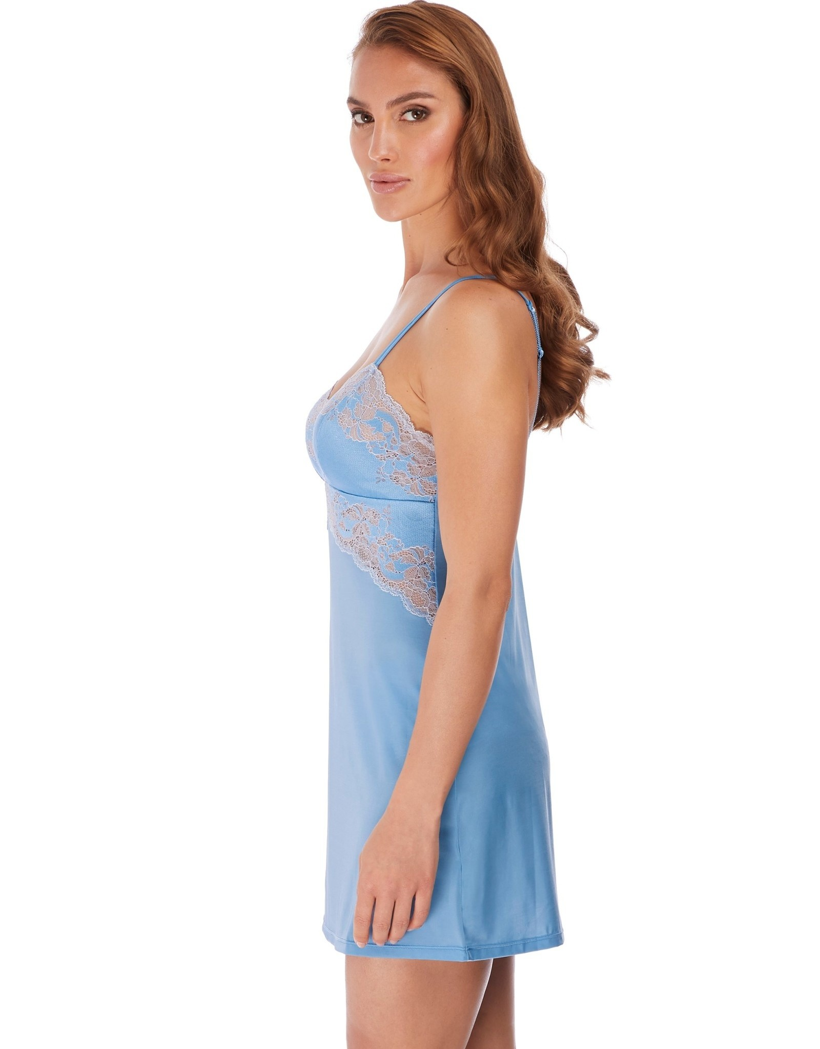 Wacoal Lace Affair - Jurkje  Cashmere blue  L