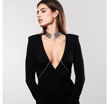 Désir Métallique - Metallic Mesh Collar