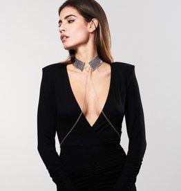 Bijoux Indiscrets Désir Métallique - Metallic Mesh Collar