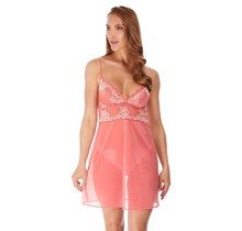 Lace Perfection - Jurkje Strawberry ice L