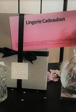 Lingerie cadeaubon