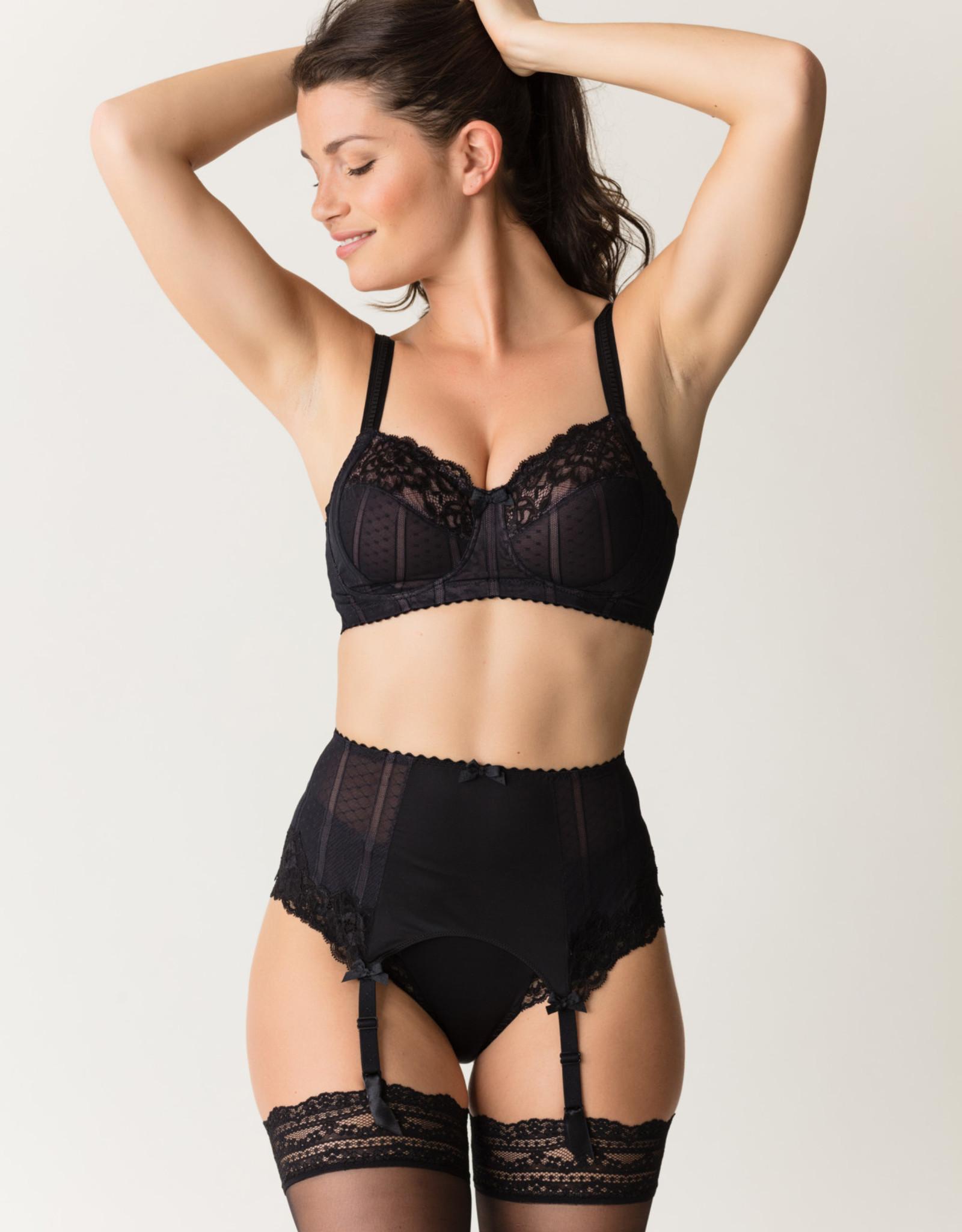 PrimaDonna Couture - Jarretel - Zwart - L