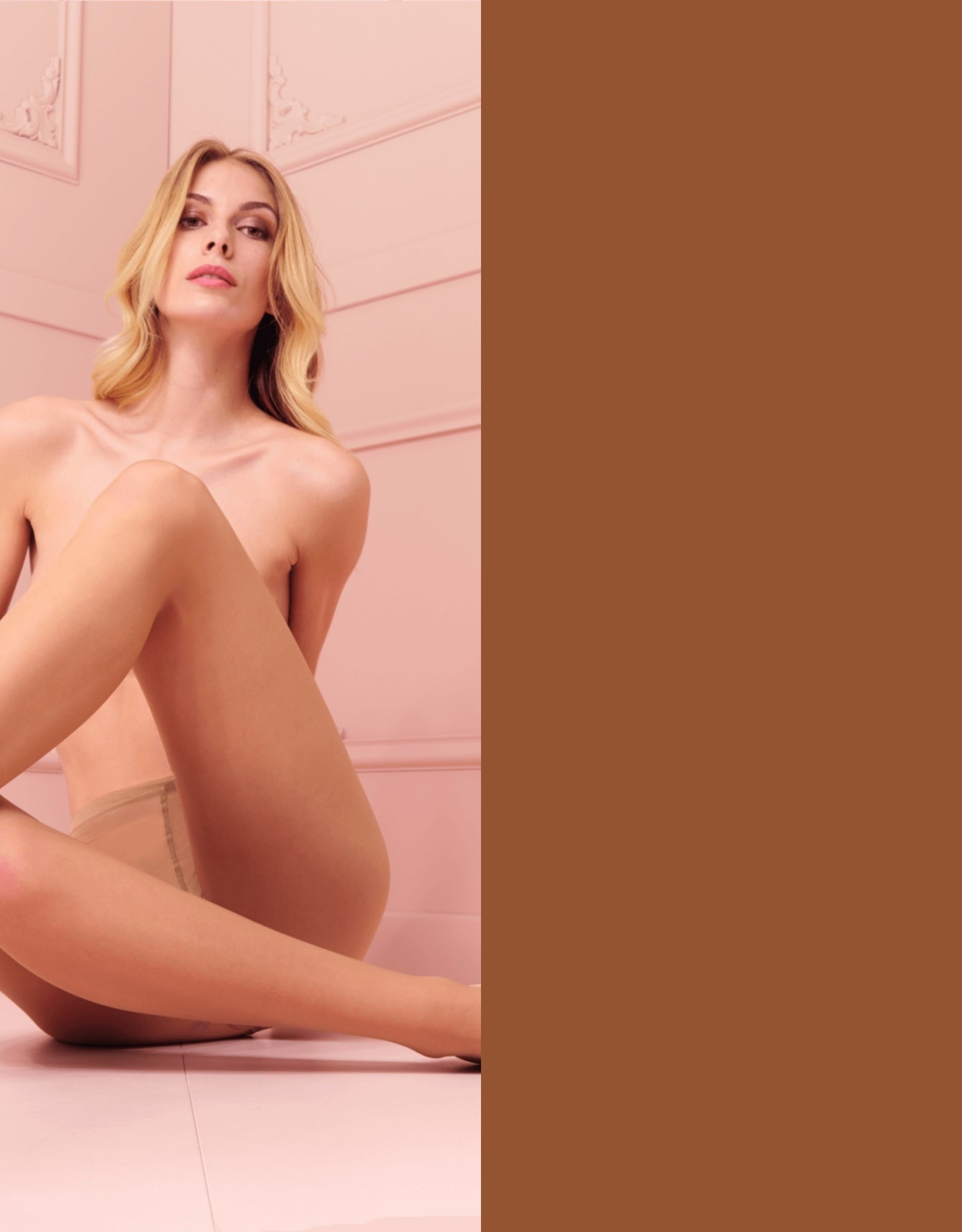 Trasparenze Rosy - Panty - Fango 20 denier