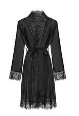 Endorfinella Sensuality - Kimono Zwart Uni