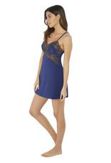 Wacoal Lace Affair - Jurkje Blue - Chocolate brown L