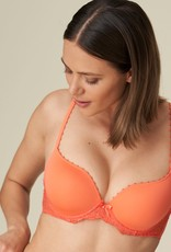 Marie Jo Pearl - Living Coral - Lingerie setje - BH 80D & Short 38