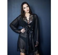 Sensuality - Kimono Zwart Uni