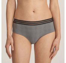 Gentlelady - Hotpants Zwart-Grijs 42