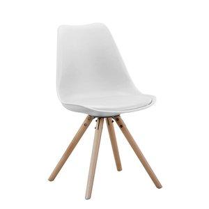 Set van 2 stoelen Brandy wit