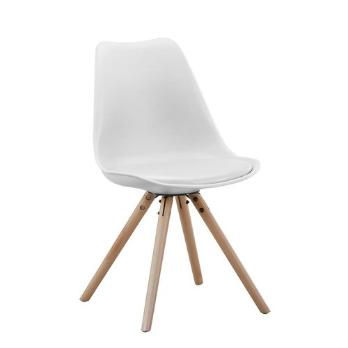 With Label moymoy Set van 2 stoelen Brandy wit