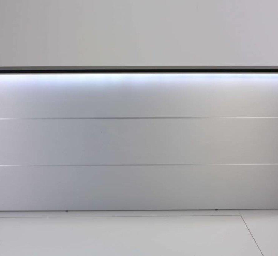 Empfangstheke AS-Line, J-Form, 2000 x 1600mm