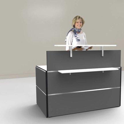 Optisch ansprechende Empfangstresen für Ihre Rezeption oder Büro