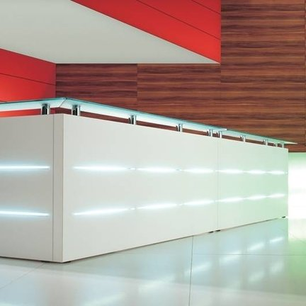 Empfangstheke Maro Plus konfigurierbare Elemente