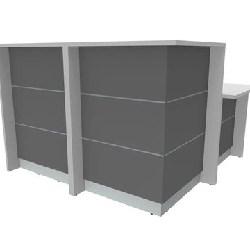 Ecktheke AS-Line mit Beraterplatz 1600 x 1600mm