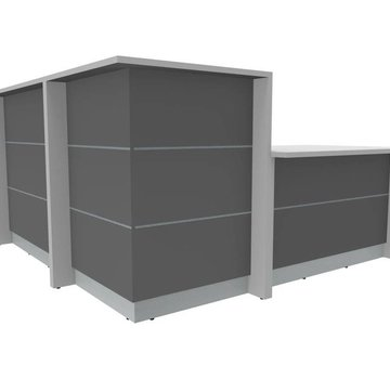 Ecktheke AS-Line mit Beraterplatz 2000 x 2000mm