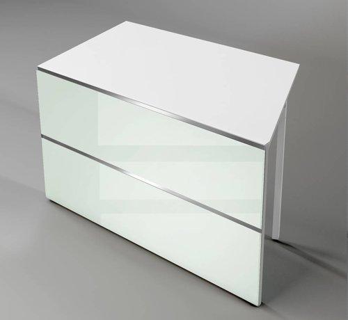 Serie KE Square, flaches abgeschraegtes Element 1350mm breit