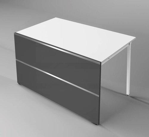 Serie KE Square, flaches gerades Element 1350mm breit