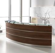 Serie MA - Empfangstheken für Ihren Empfangsbereich Empfangstheke Perfect Holz