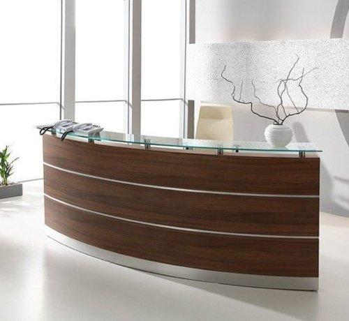 Serie MA  Empfangstheke Perfect in verschiedenen Holzdekoren