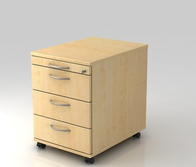 Serie HB Schreibtisch XE  120 x 80 cm in Silber  mit Elektroantrieb