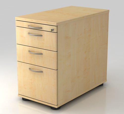 Serie HB - Schrank- und Tischkombination für Büro oder Praxis  Standconatiner Profi 80cm tief abschließbar mit Hängeregistratur