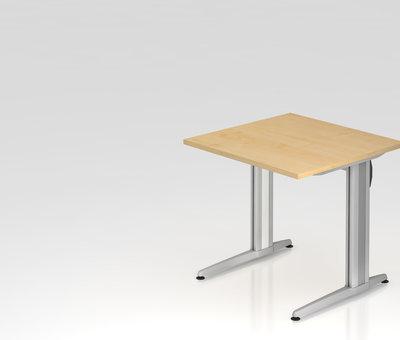 Serie HB Schreibtisch XS 80 x 80 cm in 7 Farbvarianten