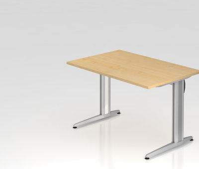 Serie HB Schreibtisch XS 120 x 80 cm in 7 Farbvarianten