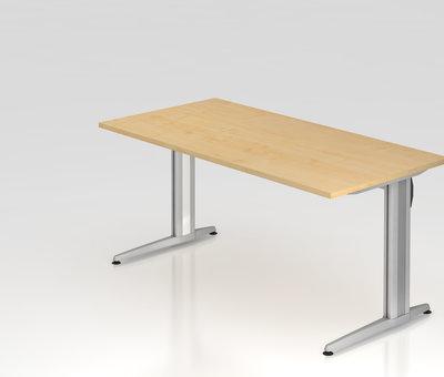 Serie HB Schreibtisch XS 160 x 80 cm in 7 Farbvarianten