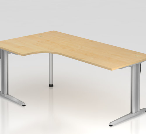 Serie HB Schreibtisch XS 200 x 120 cm in 7 Farbvarianten